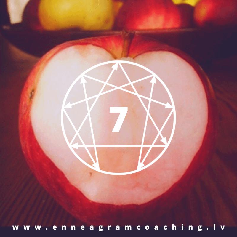 Septītā eneatipa attiecības ar ķermeni